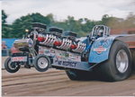 Modified Pulling Tractor & Trailer