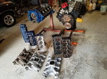 Ford 351 Cleveland Engines, Cylinder heads, Intake manifolds