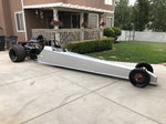 "2006 MP Chassis 225"" Hardtail Dragster"