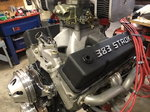 383 stroker drag motor fresh