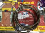 -4 Braided Stainless Hose complete with fittings
