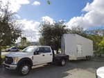 F450 + Stacker Trailer