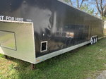 2 car enclosed trailer