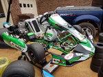 2015 Deadly Vegas CIK/TAG kart with IAME x30