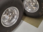 Dragster tires & wheels