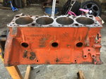 426 Hemi engine block - 1974 warranty block
