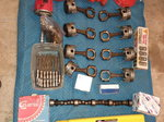 426 BB chev heads. Cranks, cams, rods, pistons, pumps, lot.