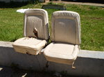 Early 4X4 Ford Bronco Front BUCKET SEATS 1966 1977