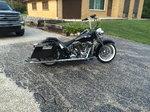 "2015 softail deluxe Harley Davidson custom 103"""