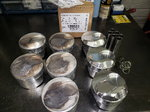 JE SRP BBC 454 139531. Dome Pistons