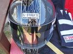 GForce carbon fiber race helmet
