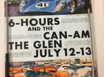 Original 1969 Watkins Glen Race Event Poster