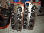 BBC GM Ovel port heads fresh ready for a 496ci or biger