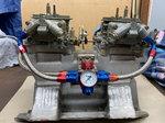 Mopar Dual-quad Intake w/Carbs/Max Wedge