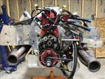 454ci SBC brodix aluminum turbo motor
