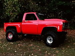 Off Road Red Truck