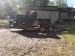 Open parker trailer