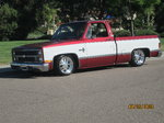 Restored C10 Chevy truck