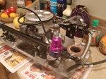 Sbc fuel injection set up..