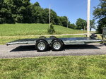 18' quality car trailer