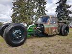 56 Rat Rod Truck twin turbo Cummins