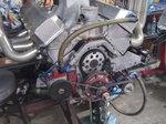 Pulling truck motor