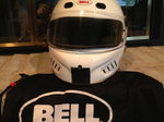 M4 Bell Helment many shields $400