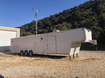 2007 cyclone 38' race trailer