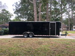 Diamond Cargo 28ft V Nose car hauler