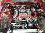 1988 Ford Mustang LX drag car