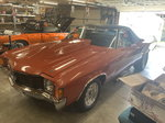 Spotless '72 Chevy El Camino Roller