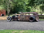 1935 Chevy sedan rat rod