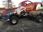 Super Modified 4 Wheel Drive Pulling Truck
