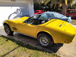 1972 CHEVY CORVETTE CONVERTIBLE PROJECT HOTROD BARN FIND WAS