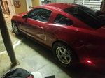 2012 mustang supercharged street car race trade 9sec on low