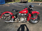 Excellent 1947 Harley Davidson Knucklehead