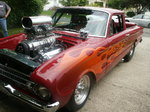Blown Pro Street 61 Ford Ranchero