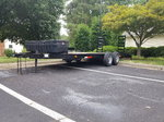 20' Heavy duty car hauler