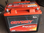 NEW Odyssey 1200 extreme battery
