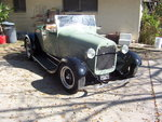 1929 Ford  fresh built all steel rdster hot rod