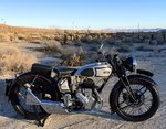 1939 NORTON MOTORCYCLE FLATHEAD