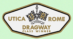Utica Rome Dragway Class Winner Decal