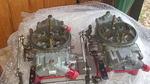 2-4150 Williams Carburetors, wilson plates  950-980 cfm