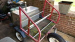 Track day utility trailer