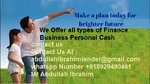 We offer all types of finance business personal cash