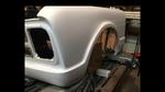 68 Chevy Front Fenders w/ Molded Bumper, Hood, *Steel*