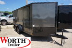 7 x 14 V-Low Motorcycle Trailer ST# 85388