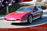 1987 Pontiac Fiero  for sale $9,900