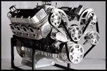 BBC CHEVY 572 TURN KEY ENGINE, DART BLOCK 740 hp-SERPENTINE  for sale $10,550