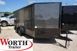 7 x 14 V-Low Motorcycle Trailer ST# 85388 for Sale $8,300